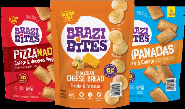 Several Brazi Bites products