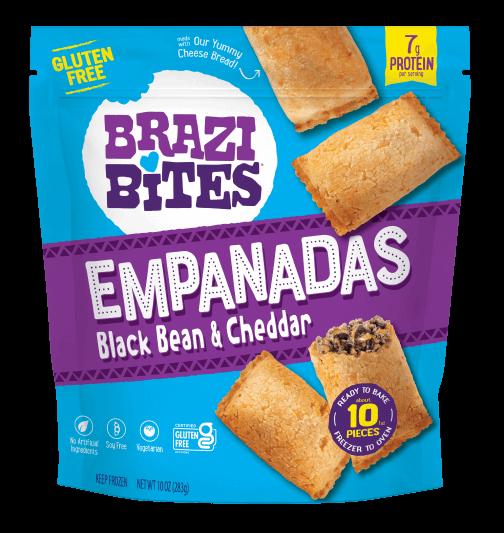Brazilian Cheese Bread Black Bean & Cheddar