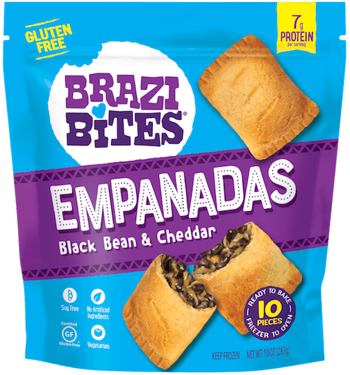 Brazilian Cheese Bread Black Bean & Cheddar
